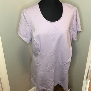 H by Halston Crossover T Shirt Top